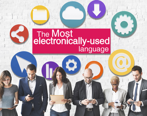 Most Electronically-Used Languages